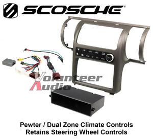 Scosche II1652PB Pewter Dash Install Mounting Kit for 03 - 04 Infiniti G35