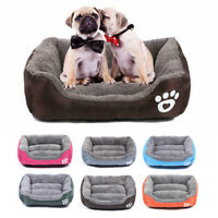 Pet Dog Cat Bed Puppy Cushion House Pet Soft Warm Kennel Dog Mat Blanket Home