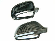 AUDI A3 A4 A5 A6 Q3 S3 RS Carbon Spiegel Cover Spiegelkappen Mirror Replacements
