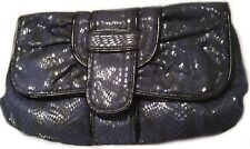 Miss Selfridge Dark Blue Party Evening Clutch Bag