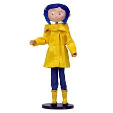 "Coraline Bendy Fashion Doll in Raincoat and BOOTS Caroline 7"" Replica Figure1"