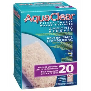 Aquaclear 20 Ammonia Remover Cartridge Aqua Clear 20 Power Filter Hagen
