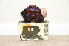 ~ Vintage Avon Stagecoach Oland After Shave New In Box Bottle Decanter 5 oz Full