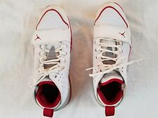Michael Jordan White with red Mens Basketball Shoes size 12
