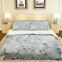 3D Blue Flowering Branch Dandelion KEP833 Bed Pillowcases Quilt Duvet Cover Kay