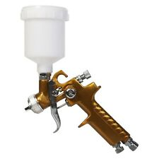 Lackierpistole Mini HVLP 0.8mm Düse Spritzpistole für Autolack usw V2A NEU