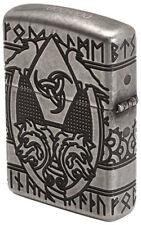 Zippo Odin Armor 360° Multicut Engraving Antique Silver ltd. xxx/1000 NEU*OVP