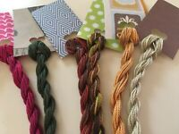 Fall Colors - 8 Skeins of Overdyed #5 Perle Wholesale Pricing #515
