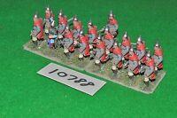 25mm dark ages / slav - infantry 17 figs - inf (10788)