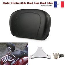 Dossier passager Siège Sissy Bar Pad Arrière Pour Harley Davidson Touring Model
