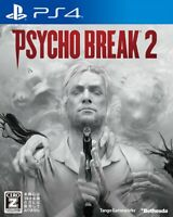 Used PS4 Psycho break 2 PlayStation 4 JAPAN OFFICIAL IMPORT