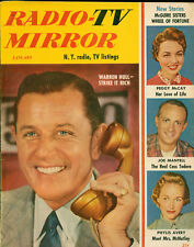 Radio-Tv Mirror 1954, New York Listings, Full of Pictures and Stories