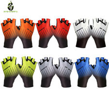 Cycling Gloves Outdoor Protect Breathable PolyesterAnti-slip Half Finger Mitts