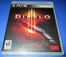Diablo III Sony PlayStation 3 - PS3 - *Factory Sealed! *Free Shipping!