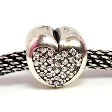 Brighton Eternal Heart Stopper Bead, J95712, Silver Finish,   New