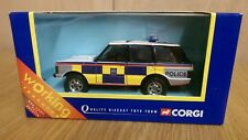 Corgi 57601 diecast Range Rover Metropolitan Police Car With Working Features
