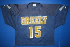 Greely High School #15 lacrosse jersey Cumberland Maine team shirt men's uniform