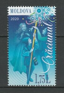 Moldova 2020 Christmas MNH stamp
