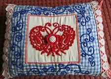 05-255 Taj Wood Scherer Kissenhülle Nackenrolle Kissenbezug weiß