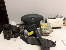 02 03 Toyota Solara airbag set wheel Dash belts gray OEM