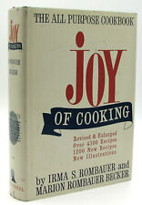 The Joy of Cooking by Irma S. Rombauer Bobbs-Merrill 1964 Edition HB/DJ Revised