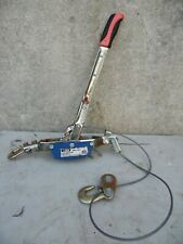 Larkin Cpn 2 Power Pull 2 Ton Lever Cable Puller Come A Long Hoist 316 Cable