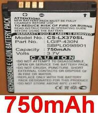 Batterie 750mAh type LGIP-430N SBPL0098901 Pour LG InTouch Lady C320