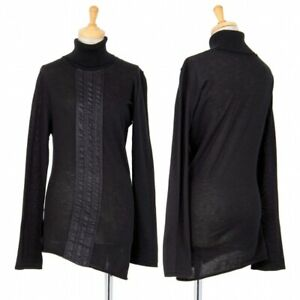 A/T(ATSURO TAYAMA) Front Tape Knit Sweater Size 36(K-85654)
