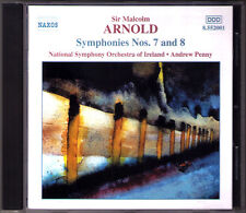 Sir Malcolm Arnold: symphony No. 7 & 8 Andrew penny CD National Orchestra Ireland