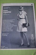 """ FEMMES D'AUJOURD'HUI "" PATRON N°1444 // ROBE CINTREE T 38"