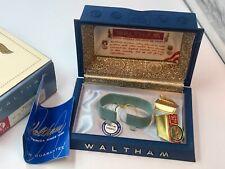 "Vintage Men's Waltham Wristwatch Presentation Box ~Inner + Outer~ ""Paxton 25"""