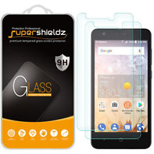 [2-Pack] Supershieldz Tempered Glass Screen Protector for ZTE Avid 559