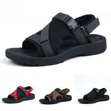 Mens Summer Beach Slingbacks Sandals Shoes Outdoor Sports Cut out Flats Casual B