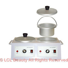 Double Hot Wax Heater Warmer Skin Care Hair Removal Spa Beauty Salon Equipment