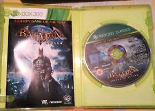 XBOX360*BATMAN*EDITION GAME OF THE YEAR*BEST SELLER/ARKHAM ASYLUM
