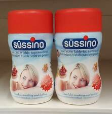 2 x SUSSINA Sweetening Powders 2x75g SÜSSINA