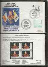 More details for papal, pope's visit to ireland 1979, 15 commemoratives covers, complete, le357