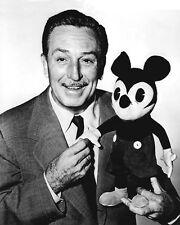 Film Producer WALTER WALT DISNEY Glossy 8x10 Photo Mickey Mouse Portrait Poster