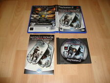 MEDAL OF HONOR EUROPEAN ASSAULT DE EA GAMES PARA LA SONY PS2 USADO COMPLETO