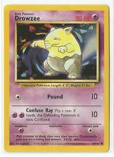 Pokemon Base set common Drowzee 49/102 NM/Mint condition