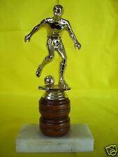 "Vintage Rare Bakker Speciality Football Trophy 7"" Tall, Fine Marble Base"
