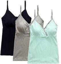 CAKYE Women Nursing Tank Top Camisole Sleep Bra For Maternity / Breastfeeding +