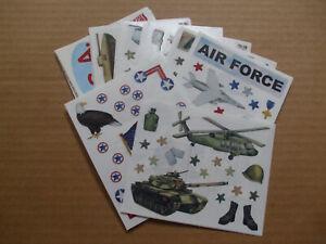 "Creative Memories - Military - 4"" x 6"" Block Stickers"