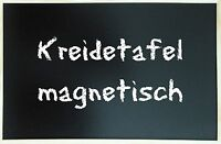 Kreidetafel Schultafel Holz MAGNETISCH 80 x 60 cm Pinnwand Magnettafel Board