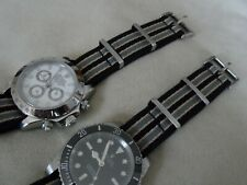 James Bond Nato Style Watch Strap for Omega Seamaster No Time To Die Spec 20 mm