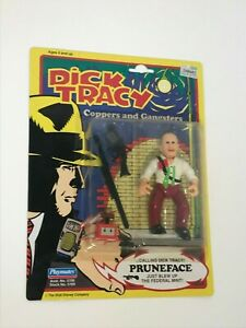 Dick Tracy Prune Face figure Playmates MOC 1990