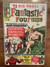 Fantastic Four Annual 1 Silver Age First Appearance Key Comic Book 1963