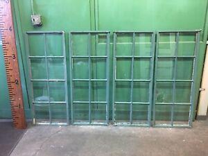 75 Beautiful Steel Industrial Casement Factory Window Heavy Glass 8 Lite