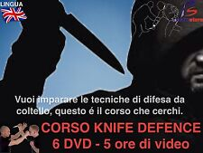 Knife Fighting (6DVD) Coltello Scherma Eskrima Self Defence Krav Maga Training