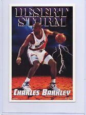 "BASKETBALL GREAT,CHARLES BARKLEY,DESERT STORM 1994 (4 1/4 X 6 1/4"")"